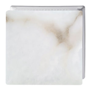 ALABASTER GLASS BLOCK SMOOTH PLATE